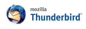 Thunderbird 2004 logo and wordmark