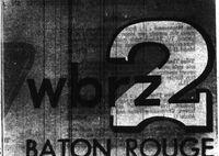 WBRZ logo 1955