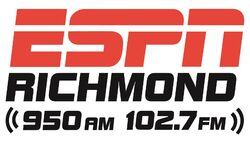 WXGI ESPN Richmond 950 AM 102.7 FM