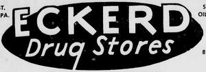 Eckerd - 1962 -May 5, 1966-