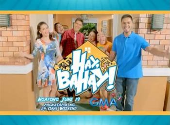 Hay Bahay Title Card