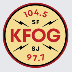 KFOG 104.5 97.7 2018