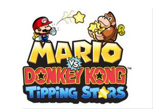Mario vs Donkey Kong Tipping Stars logo