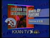 1990 KXAN 36 Wheel Of Fortune Promo