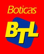 Boticas BTL logo apilado