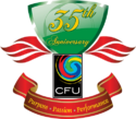 Caribbean Football Union logo (35th anniversary)