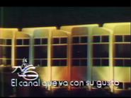 Ident Canal 6 (El Salvador) - 1975