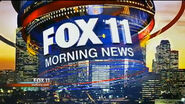 KTTV-TV's FOX 11 News' FOX 11 Morning News Video Open From Monday Morning, November 12, 2012