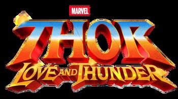 Marvel's Thor Love and Thunder Logo