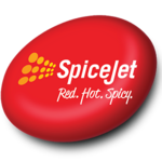 SpiceJet logo Red. Hot. Spicy.