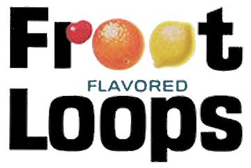 Vintage Froot Loops logo