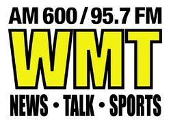 WMT AM 600 95.7 FM