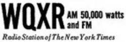 WQXR New York 1965