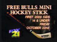 Birmingham Bulls and WTTO FOX 21 promo 1993
