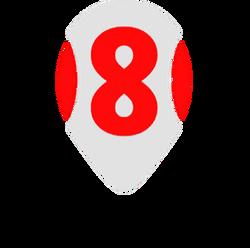 Canal Ocho San Juan (Logo 2018 - 2)