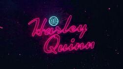 Harley Quinn titlecard