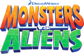 Monsters vs. Aliens title