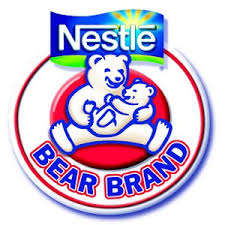 Nestlé Bear Brand logo with Baby Bear 2004
