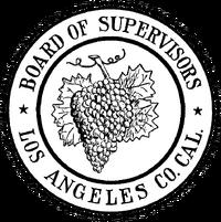 Seal of Los Angeles County, California (1887-1957)