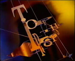 Top of the pops logo between 1992 and 1995