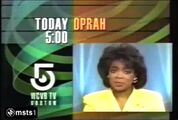 WCVB-TV Oprah Promo January 1990
