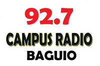 Campus Radio 92.7 Baguio Logo July 2002