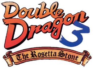 Double dragon 3 rosetta stonelogo