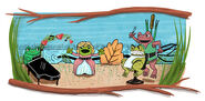 Google Gioachino Rossini's 220th Birthday and Leap Year 2012 (Version 1)