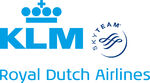 KLM Royal Dutch Airlines with SkyTeam Logo 2011