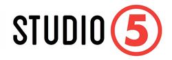 TV5 known as 5 logo Studio5 (2019)