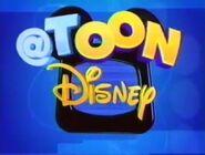 "Toon Disney logo as ""@ -at- Toon Disney"" (circa. 2002)"