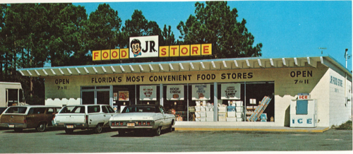 Unknown Jr. Food Store Location, 1972