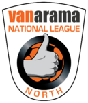 Vanarama National League North logo (white arm patch)