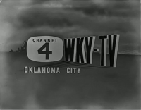 WKY 1950s ID