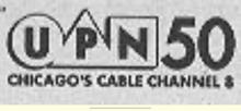 WPWR UPN 50 Chicago Print Logo