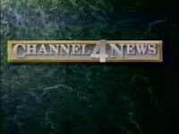 KDFW Channel 4 News 1989 90