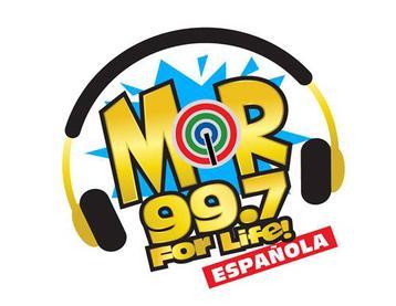 MOR 99.7 Española new logo