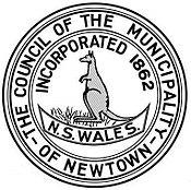 Municipality of Newtown badge