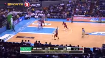 PBA on TV5 scorebug 2016 2017