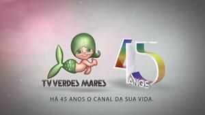 Televisão Verdes Mares 45 anos 2015