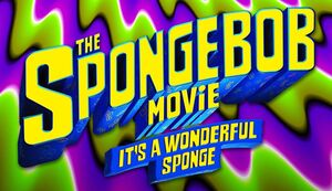 The SpongeBob Movie It's a Wonderful Sponge logo