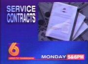 WBRC-TV Channel 6 Servce Contracts promo 1994