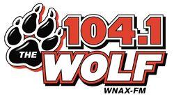 WNAX-FM 104.1 The Wolf