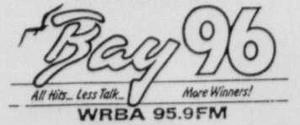 WRBA - Bay 96 - 1987 -April 5, 1989-