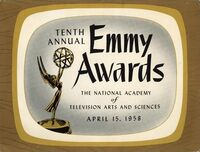 10th Primetime Emmy Awards poster
