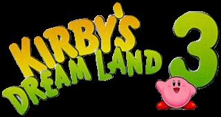 Kirby's Dream Land 3 logo