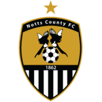 Notts County FC logo (one gold star)