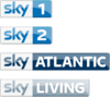 Sky 1 Sky Atlantic Sky Living
