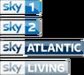 Sky 1 Sky Atlantic Sky Living