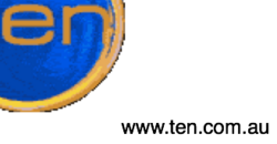 Ten Productions Logo (Secondary) 2000-2001